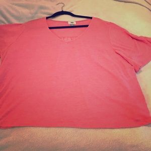 Old navy pink flowy tunic